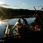 Floßfahrt auf dem Klarälven