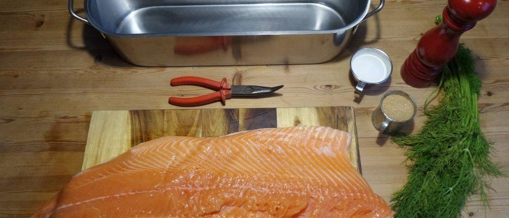 Graved Lachs Rezept schwedisch