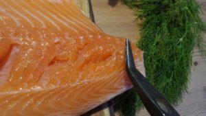 Graved Lachs zubereiten