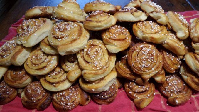 schwedische Zimtschnecken Rezept Kanelbullar