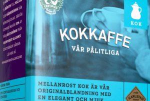 Kokkaffee-Kennzeichnung Schweden