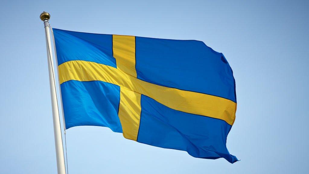 schwedische Fahne Schweden