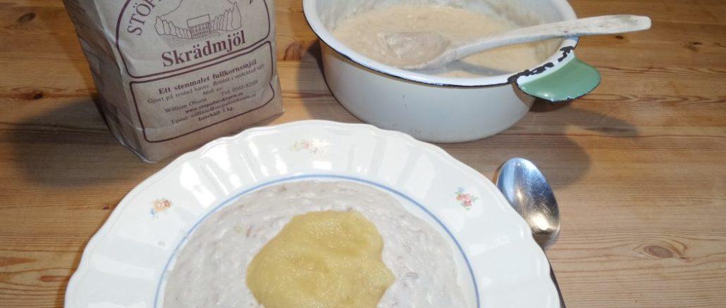 Schwedische Hafergrütze, das ideale Frühstück
