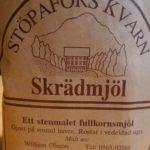 Skrädmjöl ist geröstetes Hafermehl aus Värmland