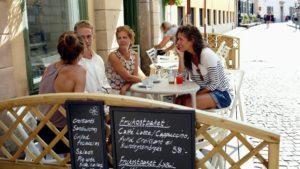 Stockholm Cafe_Altstadt Gammla Stan©Nicho Sodling