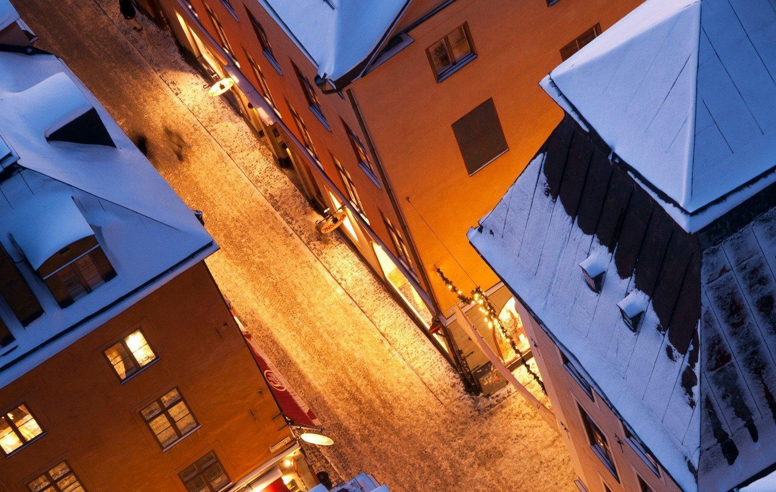 Stockholm Luftaufnahme Gamla Stan