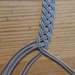 Zinndraht Armband DIY flechten