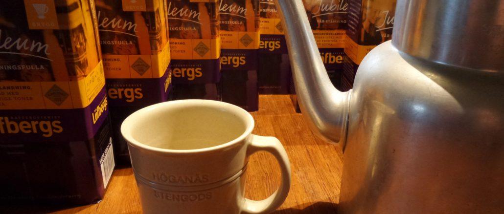 Schwedischer Kaffee und schwedische Kaffeekultur