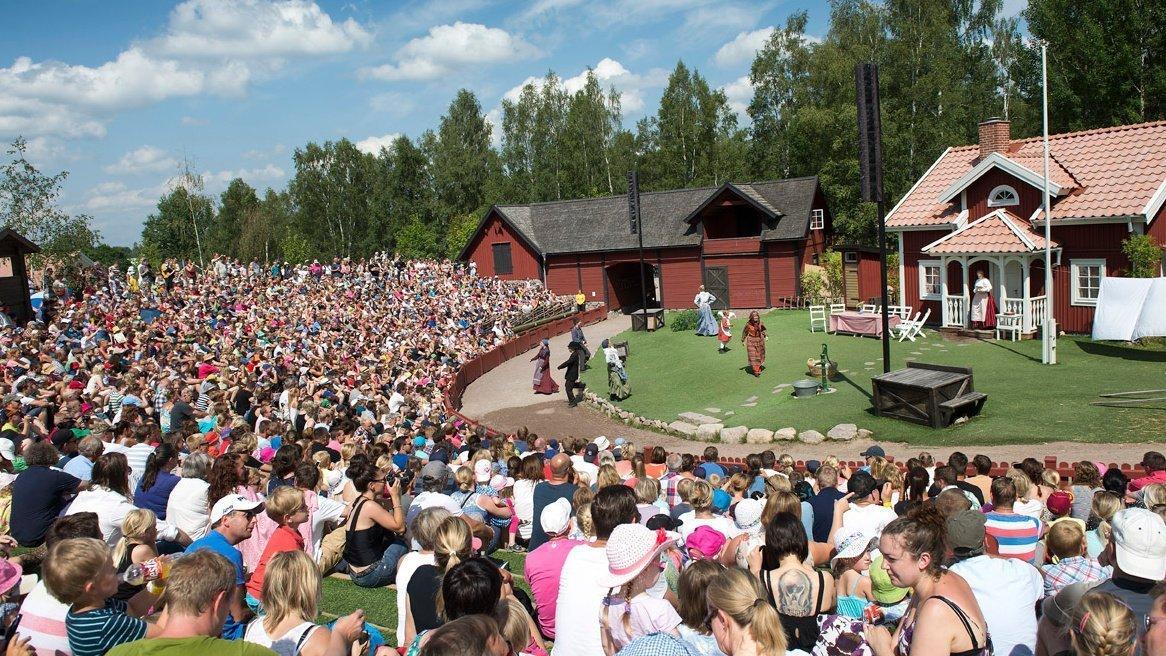 Astrid Lindgren Park Katthult Szene