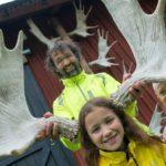 Elchpark Virum mit Kindern Småland