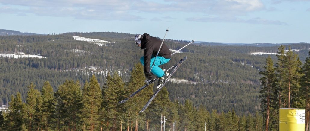 Falun Bjursås Ski Skisprung©Visit Södra Dalarna