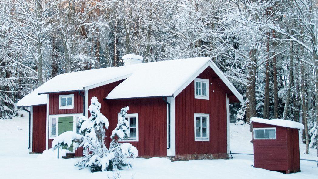 Ferienhaus Schweden Winter