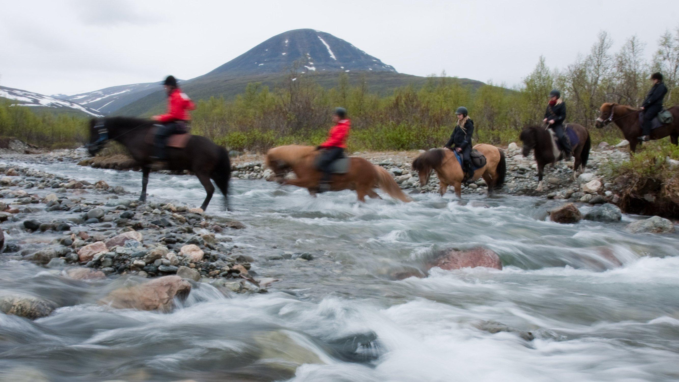 Reittour Lappland
