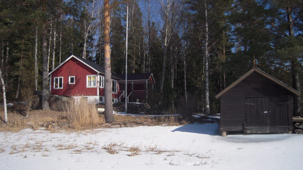 Rotes Ferienhaus Värmland