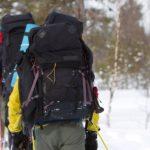Schneeschuh Wandern Schweden