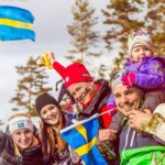 Ski WM 2015 Falun Fans