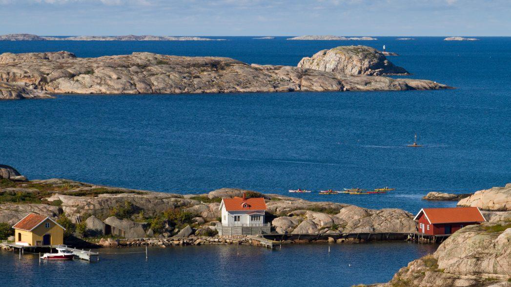 Väderöarna Bohuslän Schweden