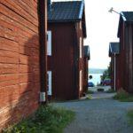 Vilhelmina Kyrkstaden in Falunrot