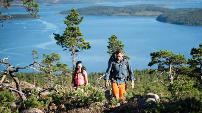 Wandern in Schweden Flachland Höga Kusten