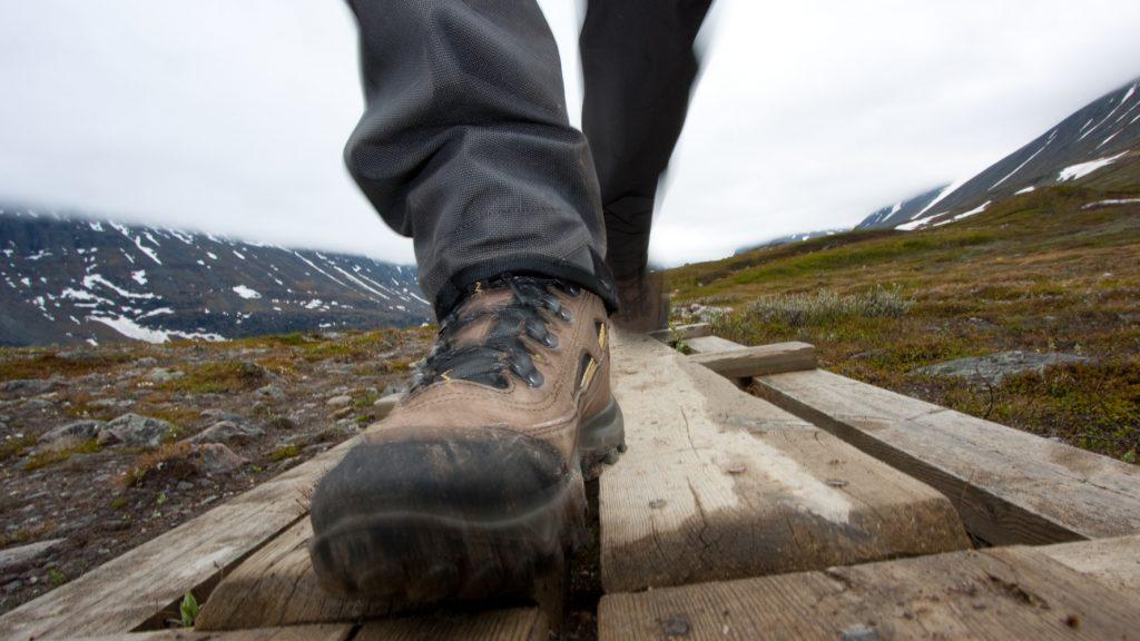 Wanderwege Schweden Fjäll Hochgebirge