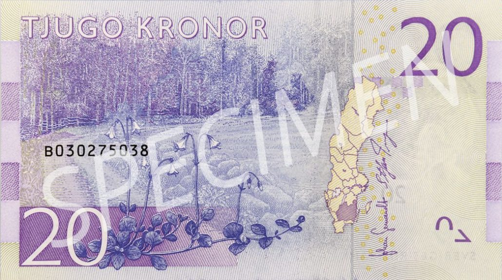 20 Schwedische Kronen In Euro