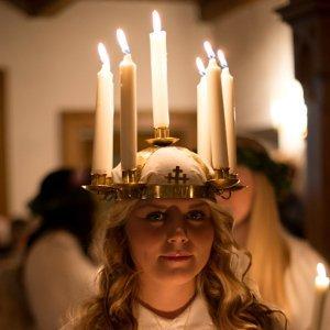 Santa Lucia Festin Schweden