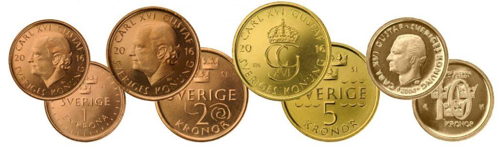 Schwedische Kronen neue Münzen Herbst 2016