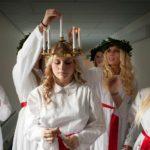 Vorbereitung Santa Luciatag Schweden © Cecilia Larsson