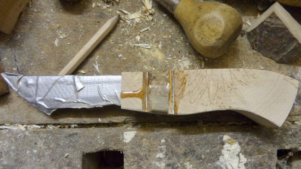 Messer machen für Anfänger Form