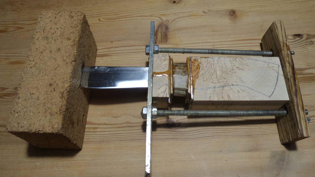 Messer machen Kleben