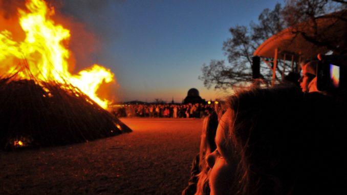 Walpurgisnacht in Schweden Valborg