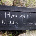 Kajak Vermietung Utö