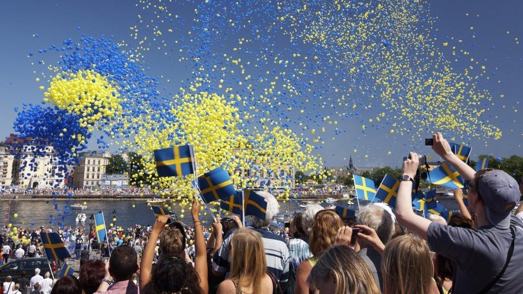 Schweden Juni