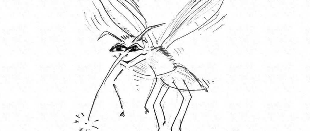 Mücken in Schweden