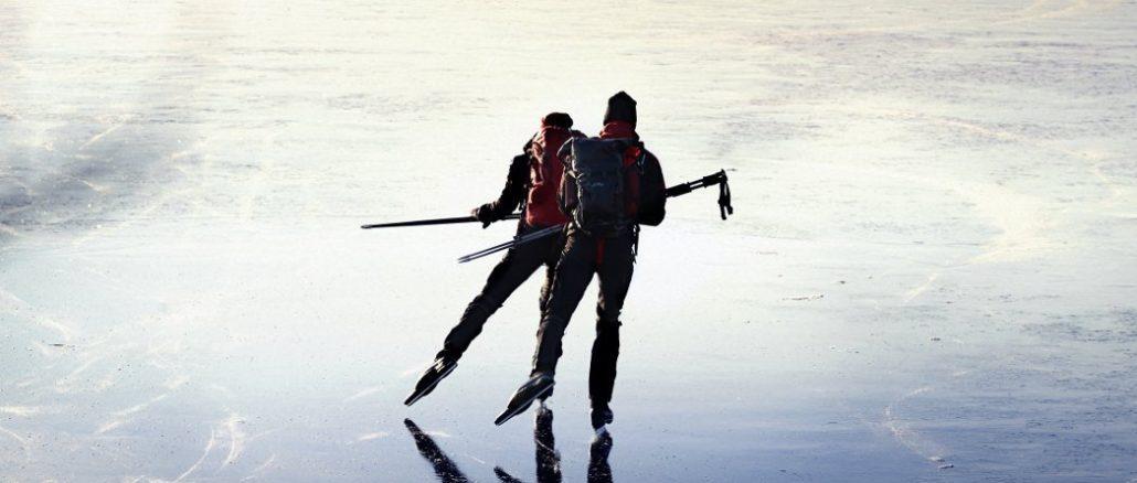 Schlittschuhwandern Schweden