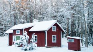 Ferienhaus Winter Schweden
