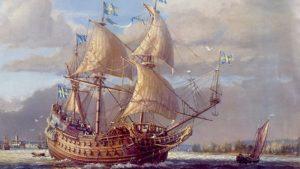 Vasa Museum Gemälde Francis Smitheman