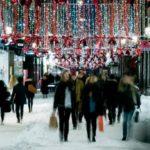Weihnachtsshopping Stockholm