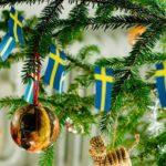 Schwedischer Weihnachtsbaum Schmuck