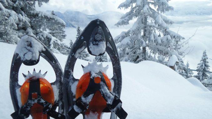 Schneeschuhe Test inook e-flex