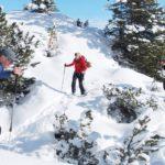 Schneeschuhwanderung in den Alpen Inook