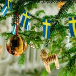typisch schwedischer Weihnachtsbaumschmuck
