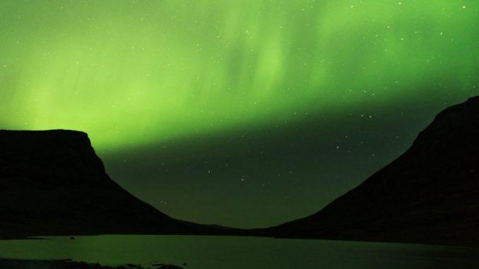 Polarlicht in Lappland