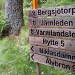 Värmlandsleden Wanderweg