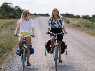 Fahrradfahren in Schweden