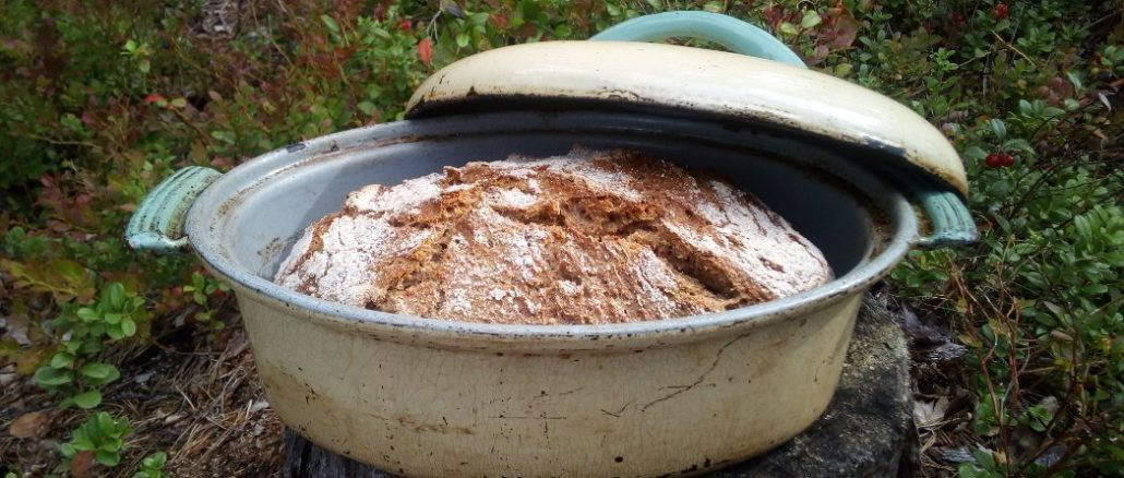 Brot im Topf ohne Kneten Rezept