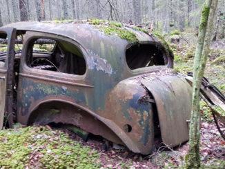 Autofriedhof Schweden