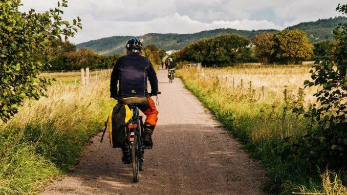 Fahrradfahren in Skåne Südschweden