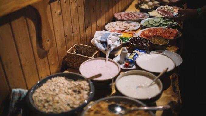 Frühstück in Schweden