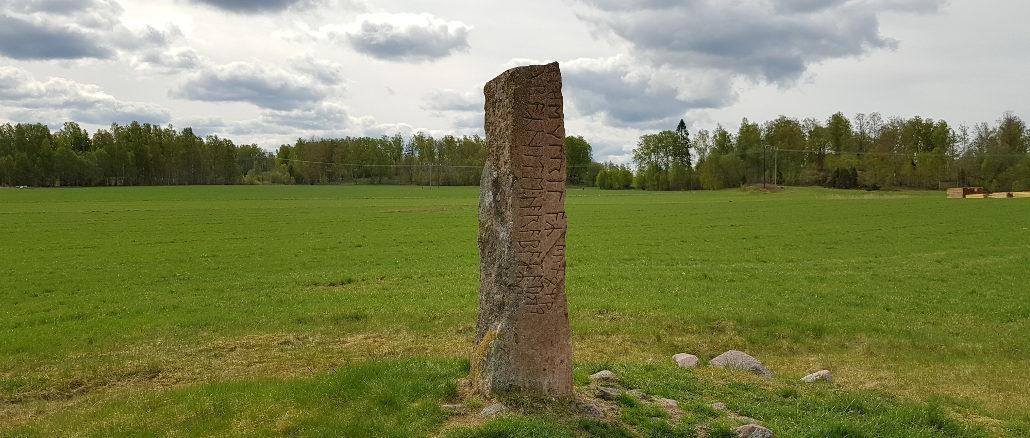 Wikinger in Schweden Runenstein